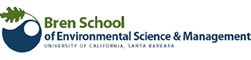 logo for University of California Bren School of Environmental Science and Management